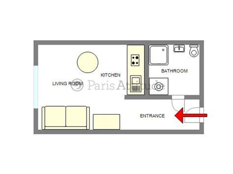 Sofabed Sofa Bed 2 In 1 Pompa Electrick rent apartment in 75016 19m 178 rue de la pompe ref