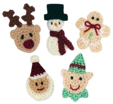 crochet christmas tree applique pattern free christmas applique set no 2 pdf crochet pattern