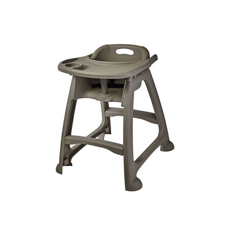 plastic high chair for restaurants stackable plastic high chair winco trenton china