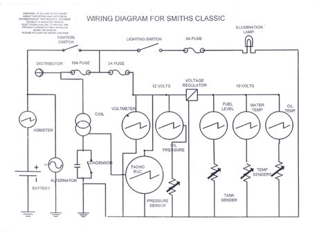 vdo ammeter wiring diagrams get free image about wiring