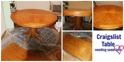chalk paint dining room table soul