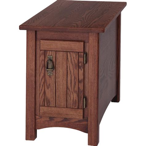 mission style side table solid oak mission style chair side table 15 quot x 27 quot the