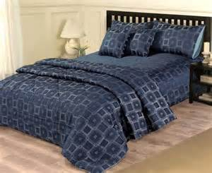 Navy Blue King Quilt Navy Blue King Duvet Quilt Cover Throw Bed Set Ebay