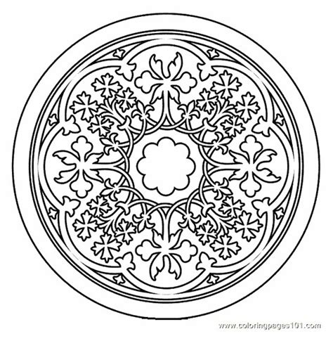 buddhist mandala coloring pages sketch coloring page