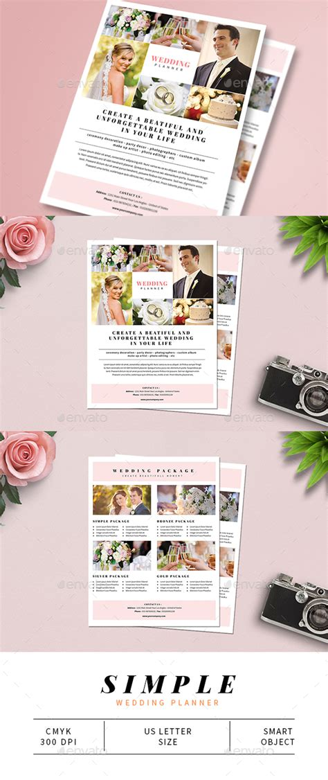 Wedding Planner Flyer by Simple Wedding Planner Flyer By Guuver Graphicriver