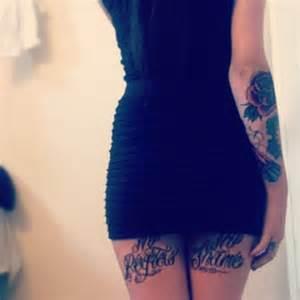 thigh tattoos page 42