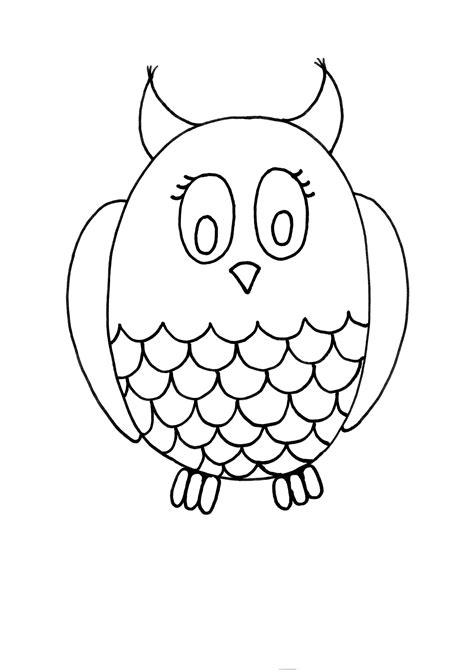 imagenes para dibujar faciles y bacanas dibujo colorear 57 owl dibujo de animales para imprimir