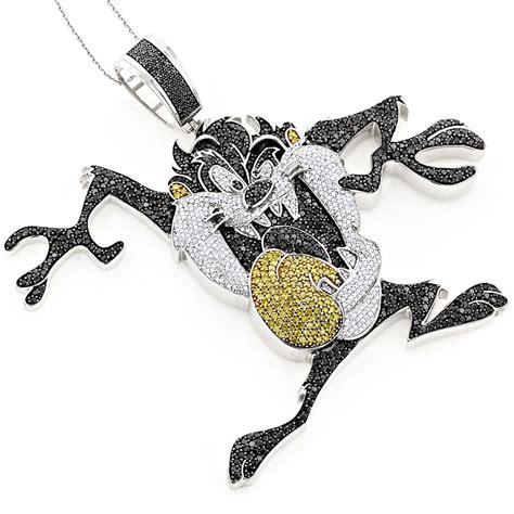 custom jewelry 10k taz tasmanian pendant 12 95ct