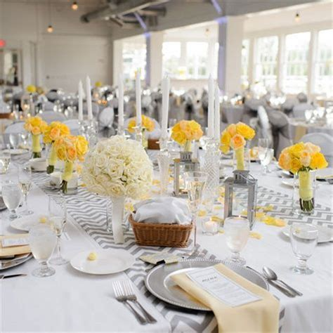 pinterest pictures of yellow end tables with gray 17 best images about wedding reception decor ideas on