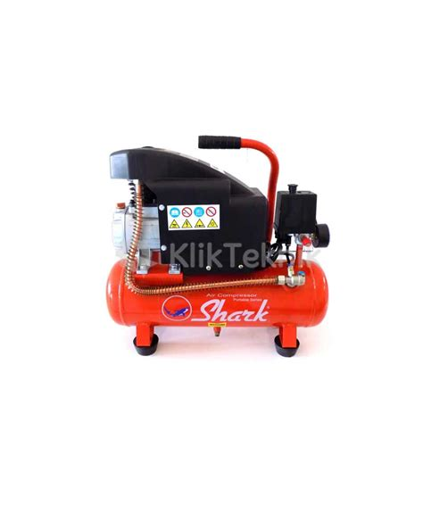 Kompresor Shark 1 4 Hp jual shark mz0710 portable compressor 3 4 hp harga