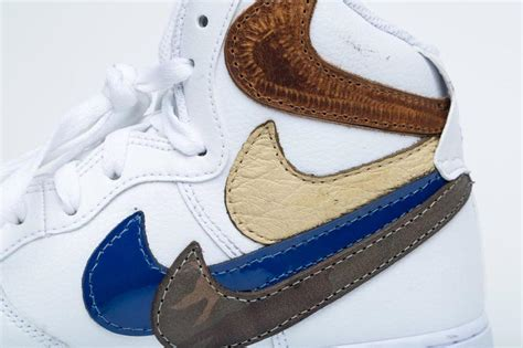 Nike Background Check Geiger S Original Quot Misplaced Checks Quot Air 1 Is Finally Re Releasing