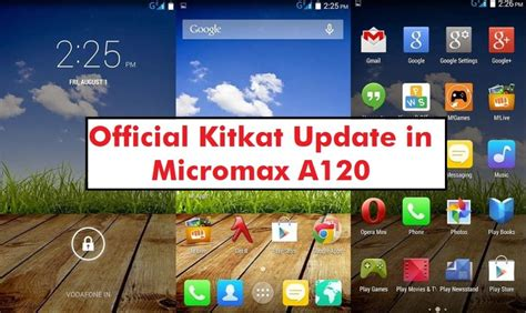 themes for micromax a120 update micromax a120 with android 4 4 2 kitkat canvas 2