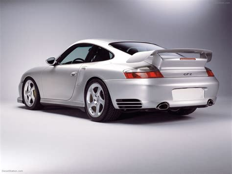 Porsche 996 GT2 Exotic Car Wallpaper #027 of 33 : Diesel Station