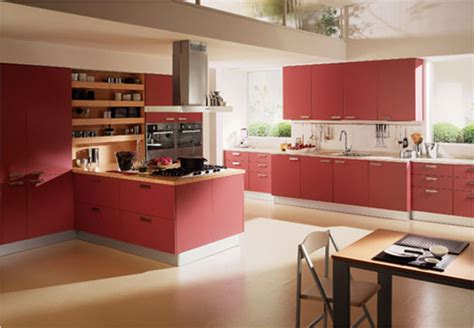 whim whimsy interior lust colorful kitchens awesome modern red kitchen designs kitchen design ideas