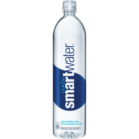 Water L by Glaceau Electrolyte Enhanced Water Smart Water 1 L