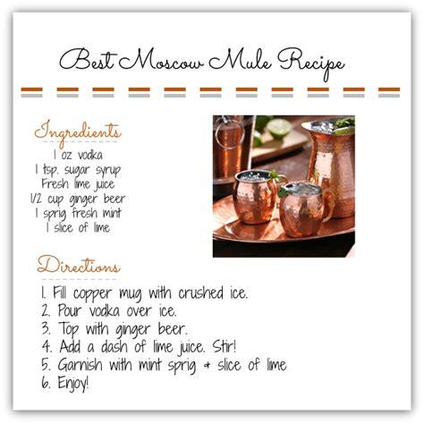 Best Moscow Mule Recipe - My Kirklands Blog