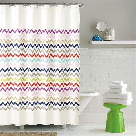 kate spade candy stripe shower curtain kate spade new york candy stripe fabric shower curtain