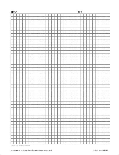 Free Graph Paper Template Printable Graph Paper And Grid Paper Engineering Paper Template