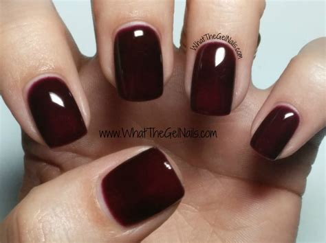 nail colors for winter ibd gel colors for winter