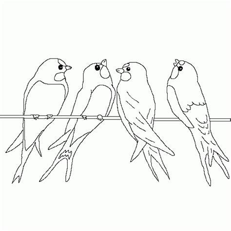 dibujo de golondrina para colorear dibujos de animales las golondrinas de la primavera dibujos de primavera