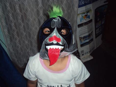 luchadores psicho sin mascara circus wwe aaa mascara de luchador circus psycho clown p ni 241 o