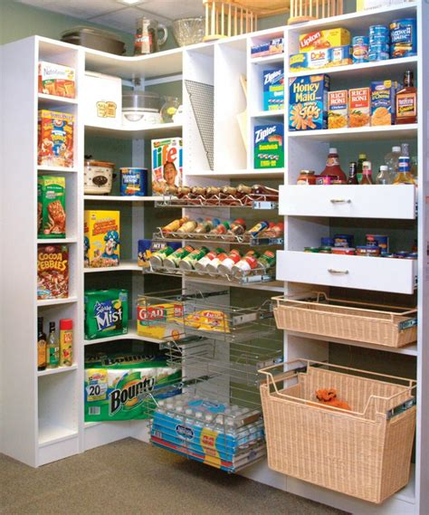 Pantry Shelving Systems For Home by Walk In Pantry Shelving Systems Homesfeed