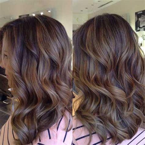 balayage highlights on dark brown hair 40 blonde and dark brown hair color ideas hairstyles