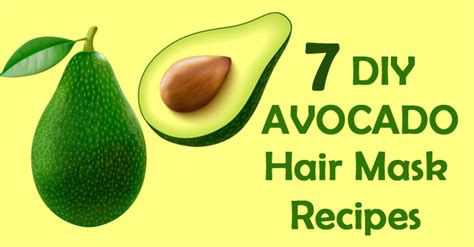 7 Best Home Made Hair Masks by 7 Nourishing Avocado Hair Mask Recipes