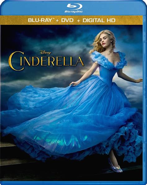 cinderella film blu ray cinderella 2015 blu ray