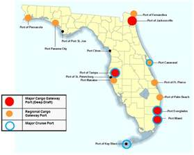 map of florida airports pictures to pin on