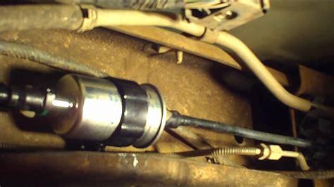 2007 mazda 3 fuel filter ranger fuel filter replacement
