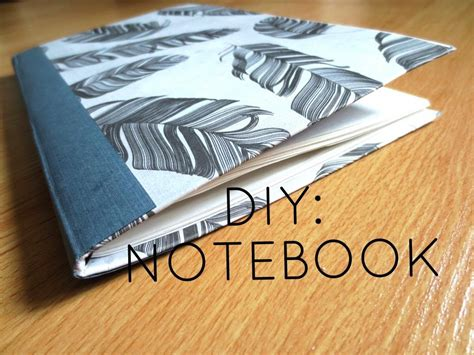 how to make picture books diy custom notebook from cereal box