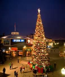 sf tree lighting pier 39 san francisco coupons discounts