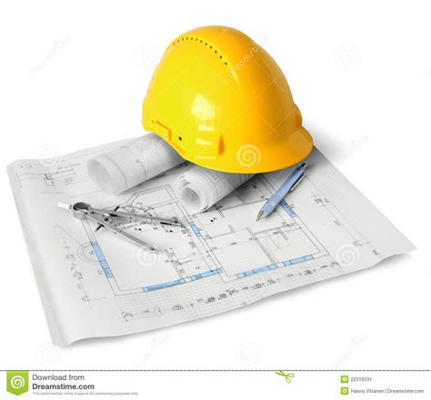 Free House Plans With Pictures by Construction Plan Tools Stock Image Image Of Technical