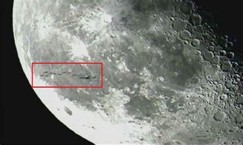 Imagenes Raras De La Luna | 191 realidad o montaje cientos de ovnis despegan de la luna