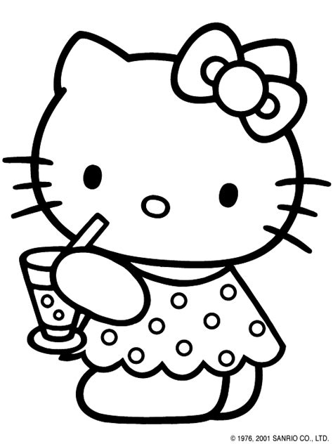 hello kitty zebra coloring page hello kitty hello kitty coloring pic
