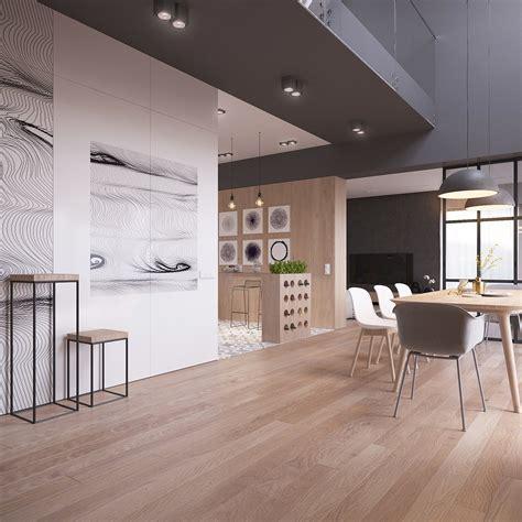 arredamento originale originale appartamento in stile scandinavo moderno ed