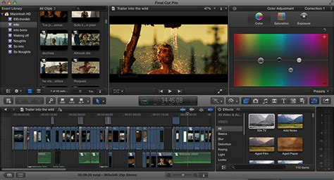 final cut pro editing final cut pro x video editing software guide