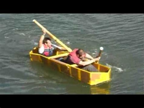cardboard boat race plymouth cardboard boat race at the mayflower sailing club on the