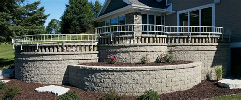 Stone Farmhouse Plans by Retaining Walls