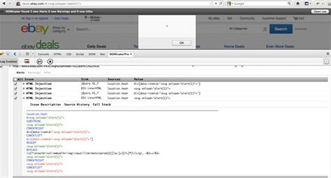 xss javascript tutorial xss cx blog deals ebay com dom xss javascript injection