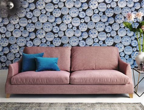 Pink And Green Sofa by Fabulous Pretty Pale Pink Fabric Sofas Homegirl