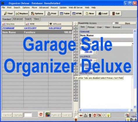 Garage Organization Software Freware Shareware Sale Downloads