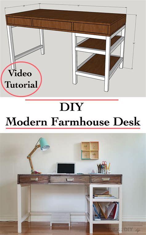 how to make a computer desk best 25 farmhouse desk ideas on pinterest diy computer