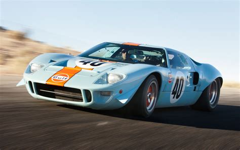 gulf gt40 1968 ford gt40 gulf mirage front three quarter photo 8