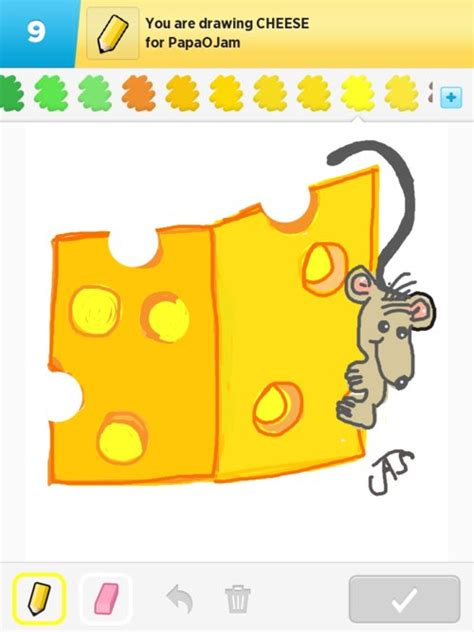 How To Draw A Block Of Cheese