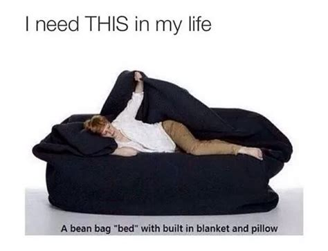 bean bag bed with blanket bean bag with built in blanket and pillow on the hunt