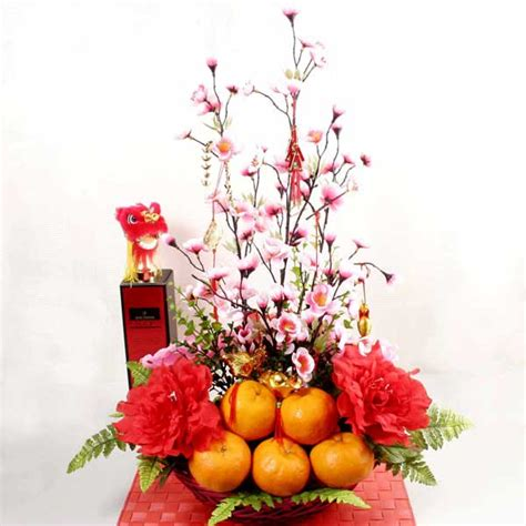 new year plant decorations lunar new year flowers new year singapore florists