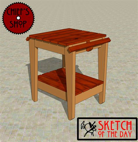 grill side table chief s shop