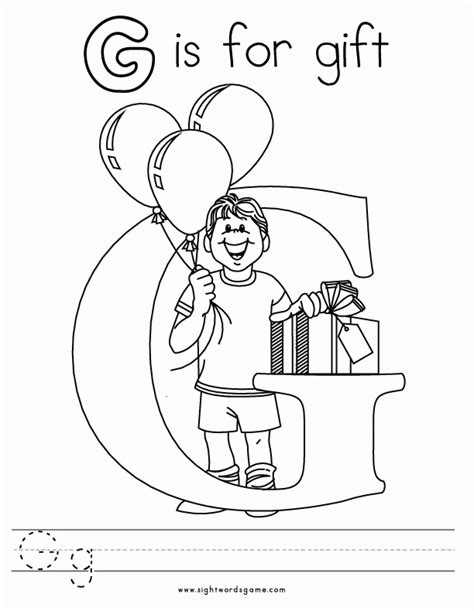preschool coloring pages letter g letter g coloring pages preschool az coloring pages